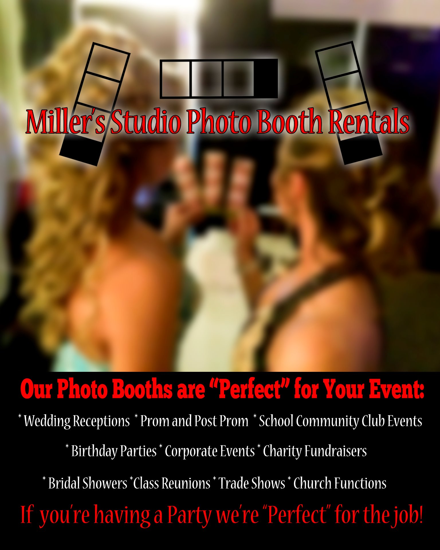 Miller's Photo Booth Rentals